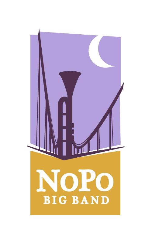 NoPo Big Band Logo